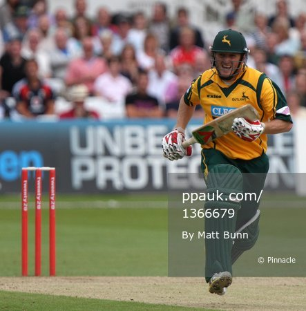 Notts Outlaws v Derbyshire Phantoms 26062009