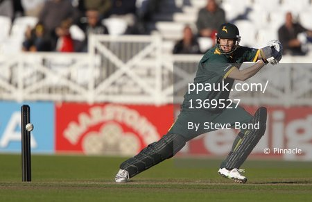 Nottinghamshire v Leicestershire 290810
