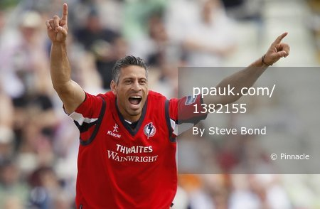 Lancashire v Leicestershire 270811