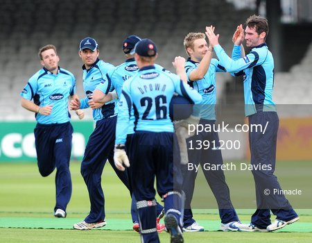 Middlesex Panthers v Somerset Sharks 170612