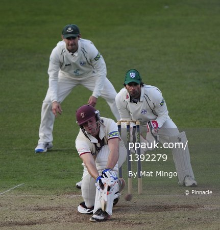 Somerset v Worcestershire Day 1 220312