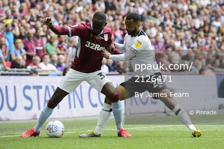 Aston Villa v Derby County, London, UK - 27 May 2019.
