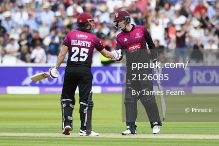 Hampshire v Somerset, London, UK - 25 May 2019.