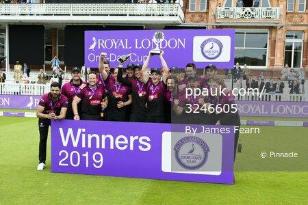 Hampshire v Somerset, London, UK - 25 May 2019.