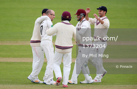 Somerset CCC v Essex CCC D2, Taunton, UK - 15 Apr 2017