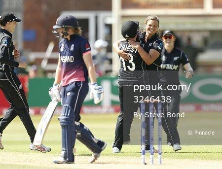 England v New Zealand, Derby, UK - 12 July 2017