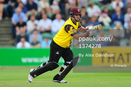 Somerset v Hampshire , Taunton, UK - 26 July 2017