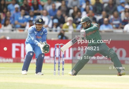India v Bangladesh, Edgbaston, UK - 15 Jun 2017
