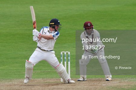 Somerset CCC v Yorkshire CCC D3, Taunton, UK - 11 Jun 2017