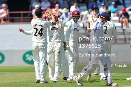 Somerset CCC v  Hampshire CCC D1, Taunton, UK - 19 May 2017
