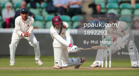 Somerset v Lancashire Day 4, Taunton, UK - 15th September 2017
