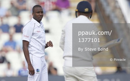 England v West Indies, Day 1, Birmingham, UK - 17 Aug 2017