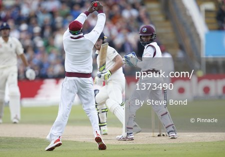 England v West Indies, Day 2, Birmingham, UK - 18 Aug 2017