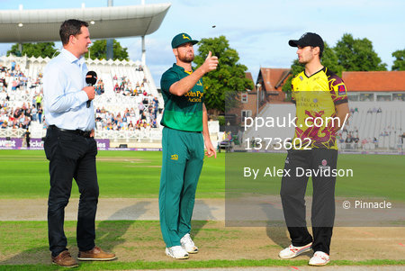 Nottinghamshire Outlaws v Somerset ,  Nottingham, UK - 24 August 2017