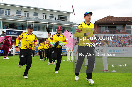 Somerset v Surrey , Taunton, UK - 6 August 2017