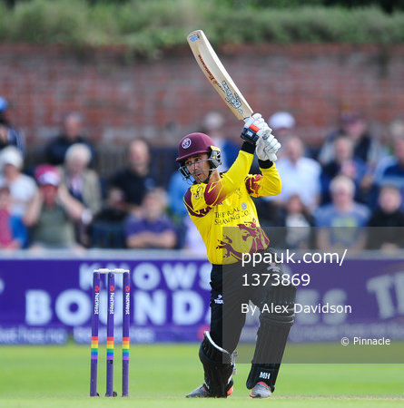 Somerset v Kent  ,Taunton, UK - 12 August 2017