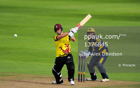Somerset v Glamorgan  ,Taunton, UK - 13 August 2017
