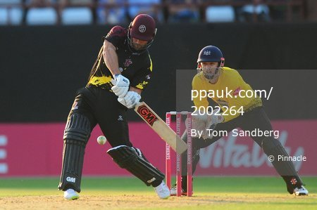 Somerset v Gloucestershire, Taunton, UK - 06 Jul 2018