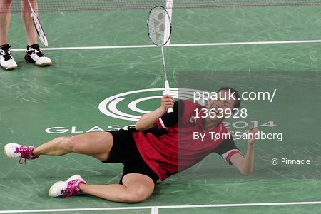 Badminton Mixed Doubles 030814