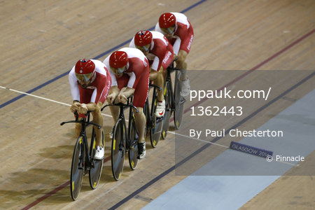 Cycling - Mens 4000 Team Pursuit 240714