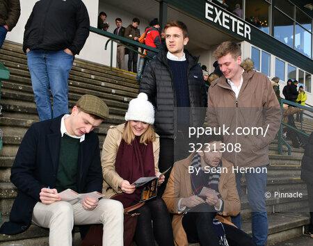 Exeter Races, Exeter, UK - 12 Feb 2017