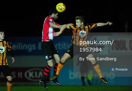 Exeter City u23s v Hull City u23s, Exeter, UK - 22 Jan 2018