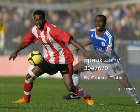 AFC Hornchurch v Peterborough 091108