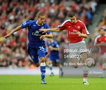 Arsenal v Everton  181008