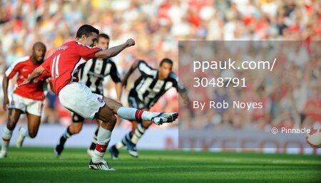 Arsenal v Newcastle  300808