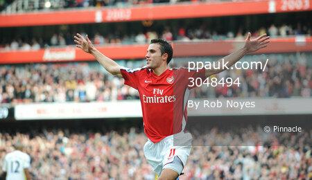 Arsenal v Spurs 311009