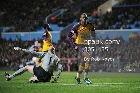 Aston Villa v Arsenal  261208