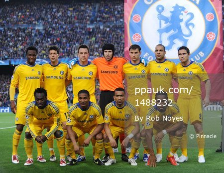Barcelona v Chelsea 280409