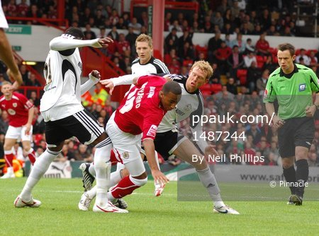 Bristol City v Derby 160808