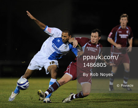 Bristol Rovers v Scunthorpe  141108