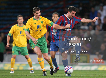 Crystal Palace v Norwich 280709