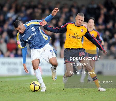 Cardiff v Arsenal 250109