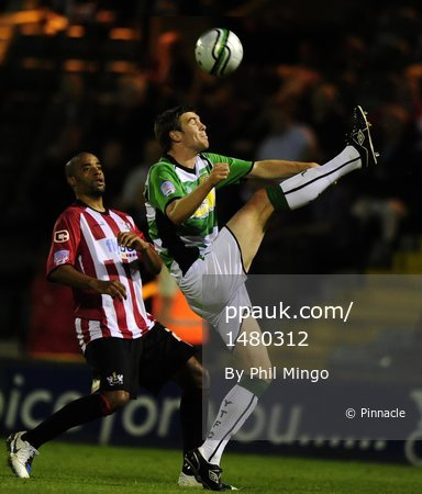 Yeovil Town v Exeter City 310810