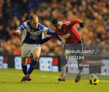 Birmingham v Man Utd 281210