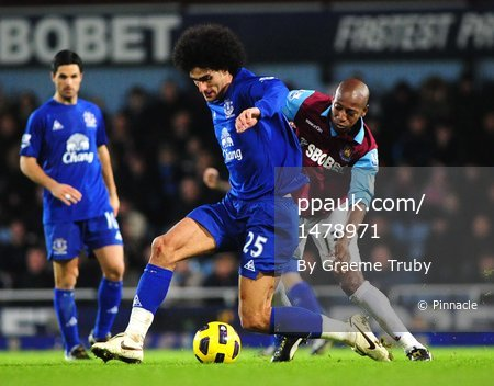 West Ham v Everton 281210