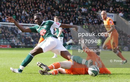 Plymouth v Blackpool 20100327