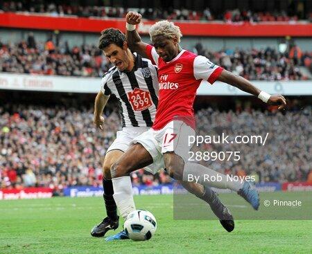 Arsenal v WBA  250910