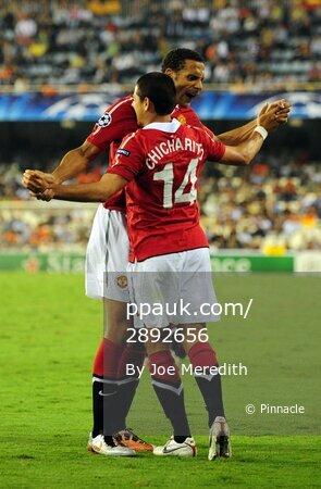 Valencia v Manchester United 290910