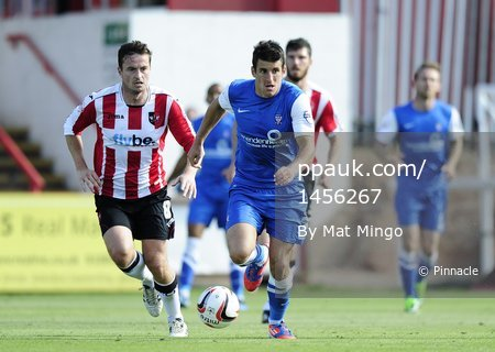Exeter City v York 310813