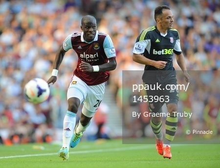 West Ham v Stoke City 310813