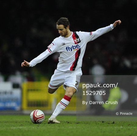 Swindon Town FC v Exeter City FC 290111