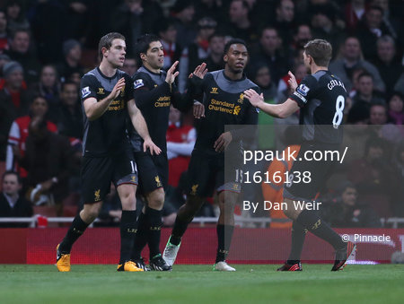 Arsenal v Liverpool 300113