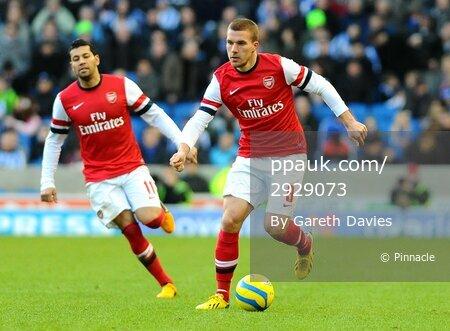 Brighton v Arsenal 260113