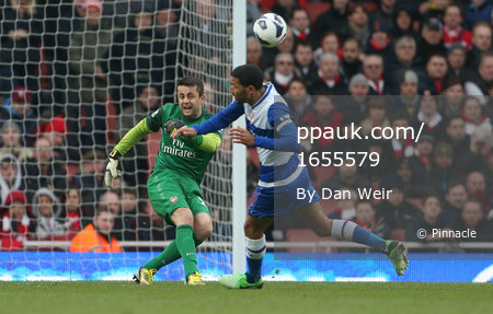 Arsenal v Reading 30/03/13