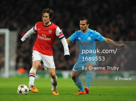 Arsenal v Marseille 261113