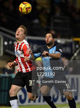 Wycombe Wanderers v Exeter City 261113